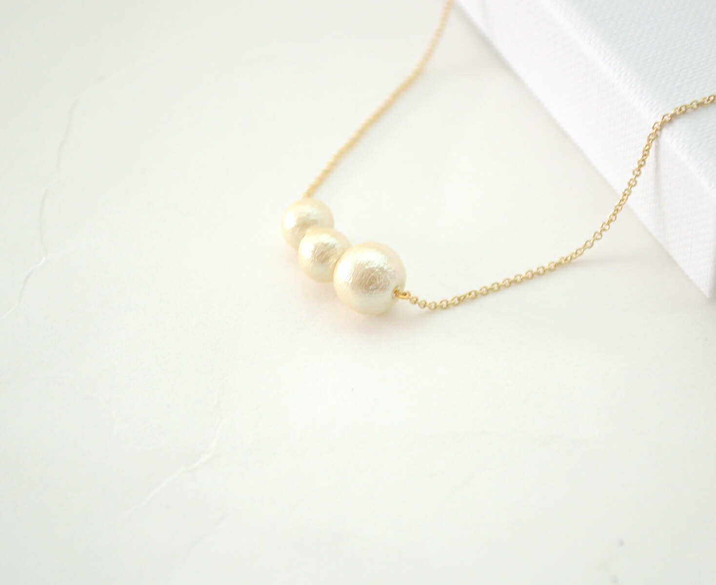 Naotjewelry 14kgf pellet cotton pearl necklace 14kgf mozeypictures Gallery