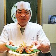 日本料理・ふぐ懐石 てん花 大将