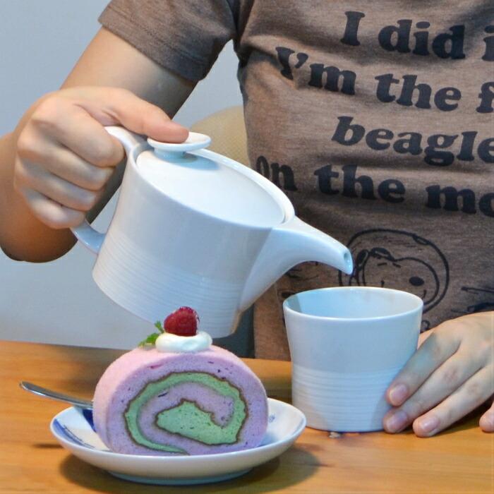 波佐見焼 北欧食器 和食器 おしゃれ natural69 白山陶器 急須 お茶 紅茶