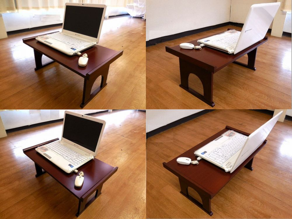 such as work items in PC work reading and writing (calligraphy) Important  to do time at a desk, calm your mind, A little Japanese-style table is  perfect.