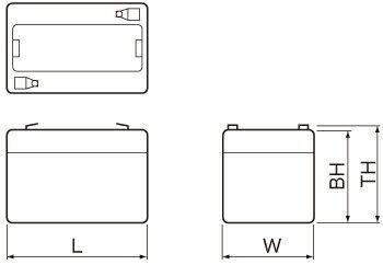 NP/PEシリーズ外形図