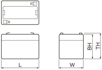 PWLシリーズ外形図
