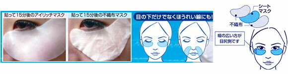 アイリッチマスク使用方法