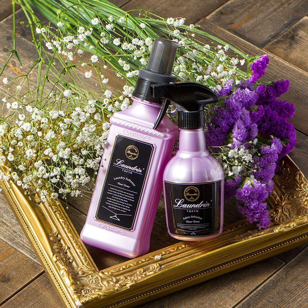 ネイチャーラボ公式:【ランドリン フラワーテラス】ランドリン 柔軟剤 フラワーテラスの香り 詰め替え 480ml・イメージ写真7