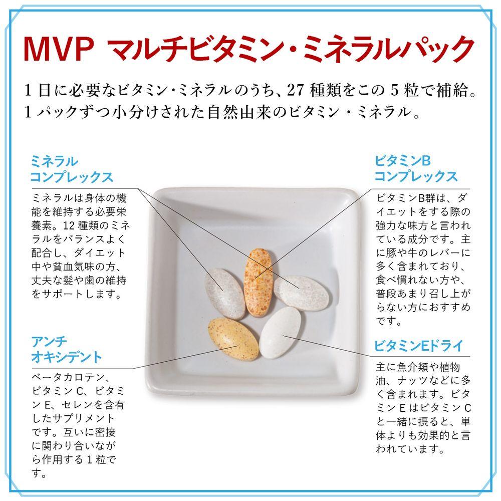 ネイチャーラボ楽天公式:MVP (マルチビタミン・ミネラルパック) 30日分・イメージ写真5