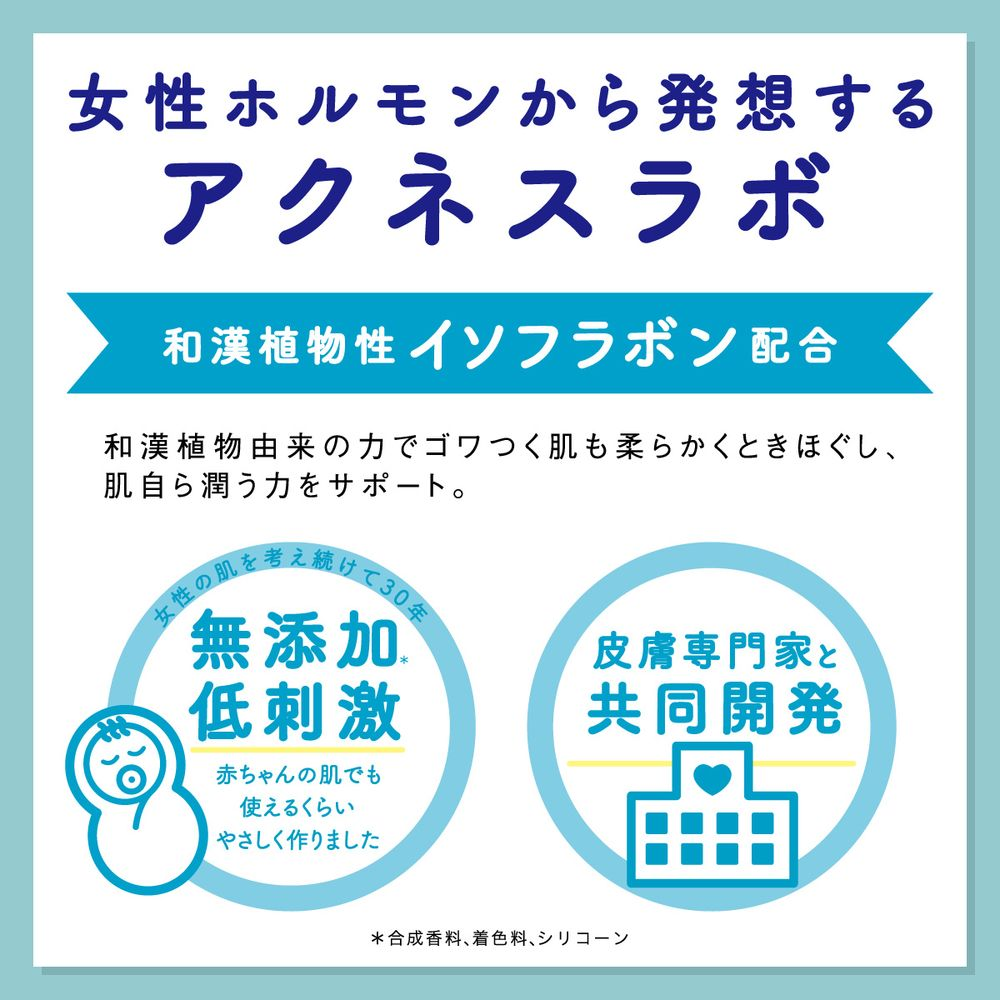 ネイチャーラボ楽天公式:アクネスラボ 薬用 クレンジング ジェル 100g 【医薬部外品】・イメージ写真5