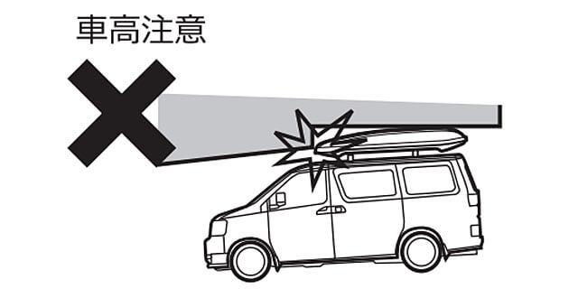 車高に注意