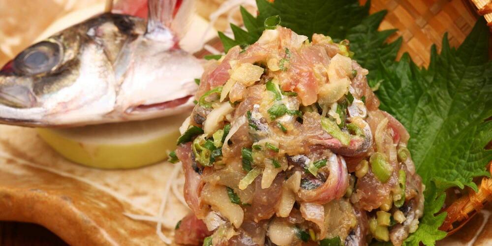 釣ったアジは美味しく調理!!簡単おすすめ「アジのなめろう」を作ってみよう!