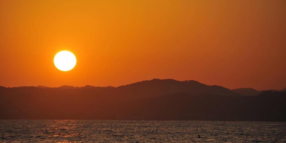 釣れやすい時間帯は、日中も夜も可能だが、おすすめは朝夕マヅメ時