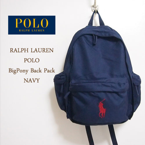 From Ralph Lauren is the rucksack. Children line slightly more compact  backpack! The Navy is at the Red VIC pony Ralph Lauren classic colors! 143c1f747b859