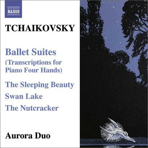 チャイコフスキー(1840-1893): ピアノ4手連弾のためのバレエ編曲作品集