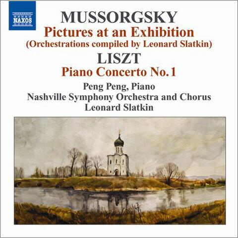 ムソルグスキー(1839-1881): 組曲「展覧会の絵」(多数の編曲者による版) リスト(1811-1886): ピアノ協奏曲 第1番 変ホ長調