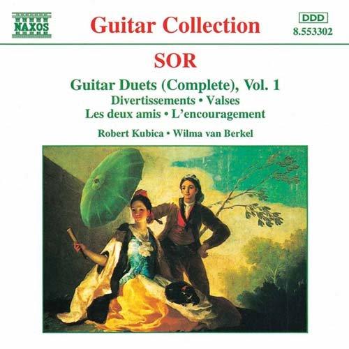ソル(1778-1839): ギター二重奏曲全集 第1集