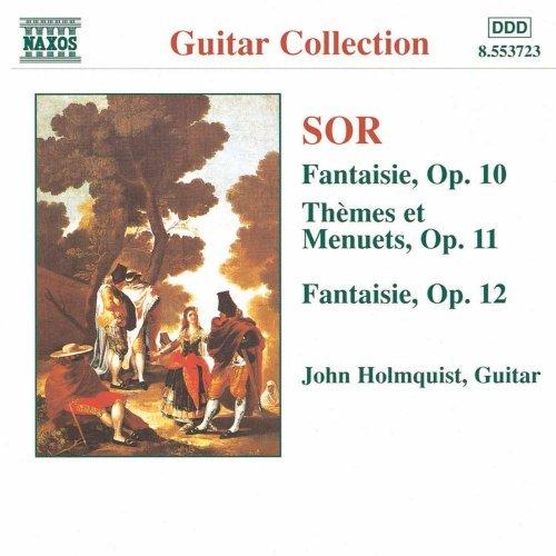 ソル(1778-1839): 幻想曲 第3番 Op.10/ 2つの主題と変奏および12のメヌエット Op.11/ 幻想曲 第4番 Op.12