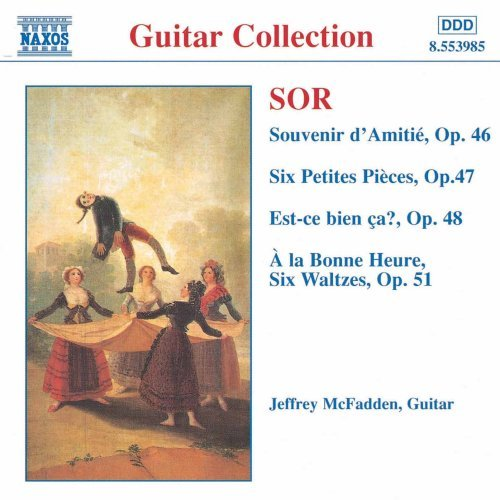 ソル(1778-1839): 幻想曲「友情の思い出」 Op.46/ 6つの小品 Op.47/「これでいい?」 Op.48/ 6つのワルツ「ついに!」 Op.51/ 奇想曲「静けさ」Op.50/「純潔」小さな夢想 他