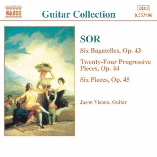 ソル(1778-1839): 6つのバガテル「わが倦怠」 Op.43/ 24の斬新的な小品 Op.44/ 6つの小品「やってみましょう」 Op.45