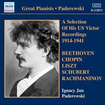 パデレフスキ(1770-1827) 彼自身が選曲したアメリカ・ビクター録音集