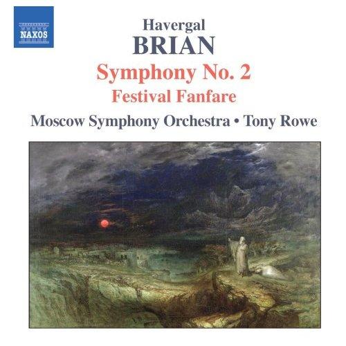 ブライアン(1876-1972): 交響曲 第2番/ 祝祭ファンファーレ