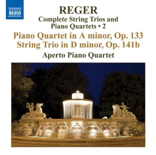 レーガー(1873-1916): 弦楽三重奏&ピアノ四重奏曲全集 第2集