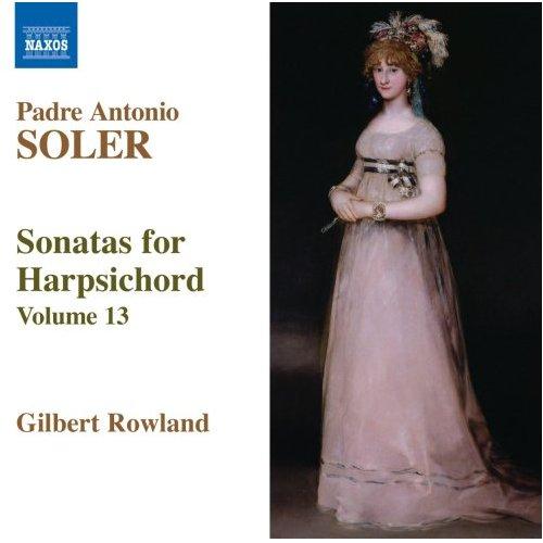ソレル (1729-1783): ハープシコード・ソナタ全集 第13集