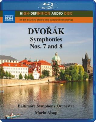 ドヴォルザーク(1841-1904): 交響曲 第7番&第8番
