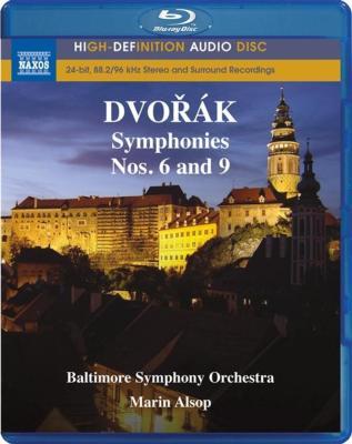 ドヴォルザーク(1841-1904): 交響曲 第6番&第9番