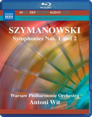 シマノフスキ(1882-1937): 交響曲 第1番&第2番