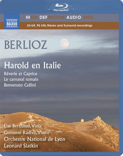 ベルリオーズ(1803-1869): イタリアのハロルド/ 序曲「ローマの謝肉祭」/夢とカプリース/ 序曲「ベンヴェヌート・チェッリーニ」