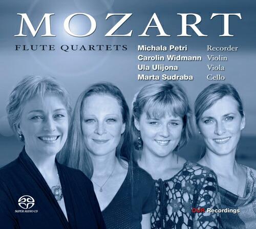 モーツァルト(1756-1791): フルート四重奏曲集(リコーダー版)