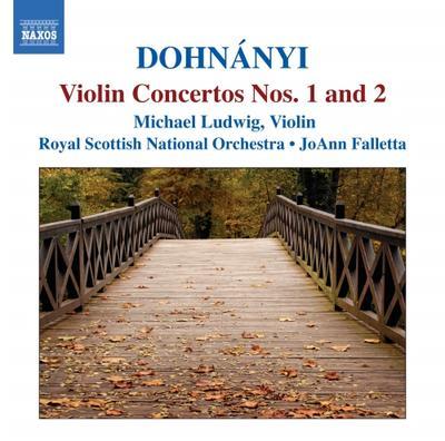 ドホナーニ(1877-1960): ヴァイオリン協奏曲集