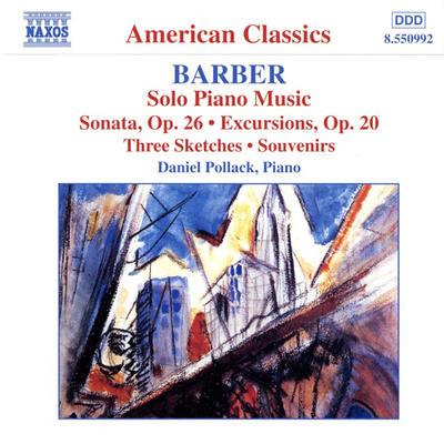バーバー(1910-1981): ピアノ独奏曲全集 − ピアノ・ソナタ Op.26/ 「遠足」Op.20/組曲「思い出」Op.28 他