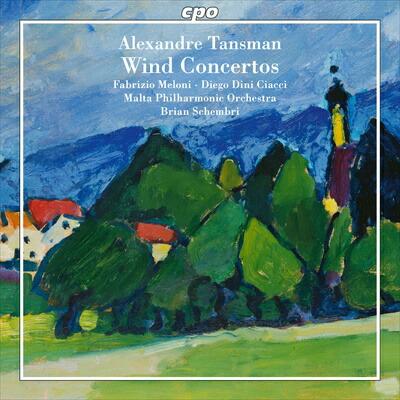 タンスマン(1897-1986): 管楽器のための協奏曲集