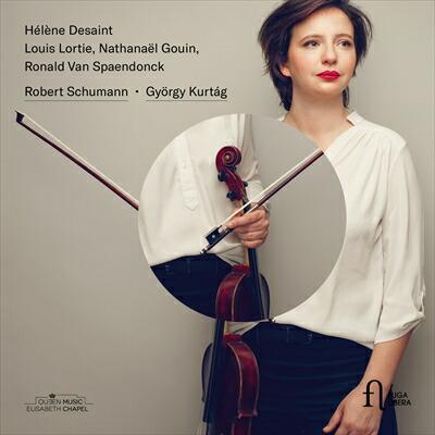 シューマン (1810-1856)<br>ジョルジ・クルターグ (1926-): ヴィオラ、クラリネットとピアノのための作品集