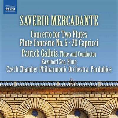 メルカダンテ(1795-1870): フルート協奏曲集 第2集