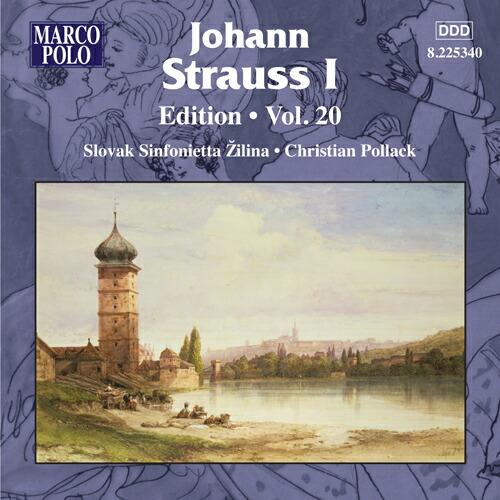 J.シュトラウス1世(1804-1849): 作品集 第20集