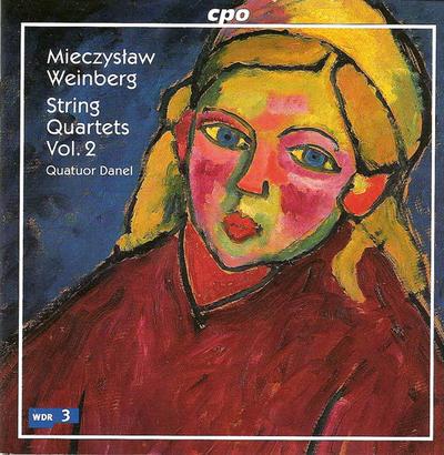 ワインベルク(1919-1996): 弦楽四重奏曲集 第2集