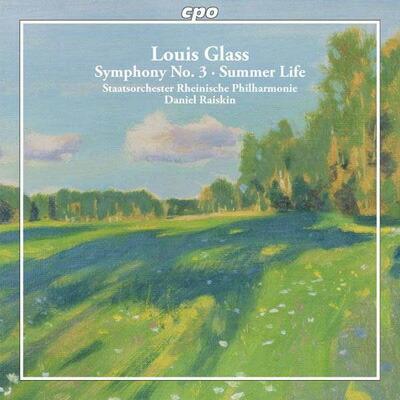 グラス(1864-1936): 交響曲全集 第1集  交響曲 第3番 ニ短調 Op.30「森の交響曲」