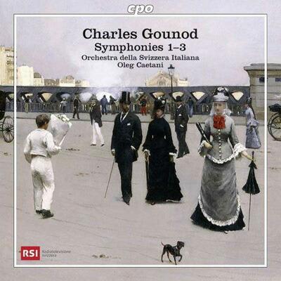 グノー(1818-1893): 交響曲集  交響曲 第1番・第2番・第3番