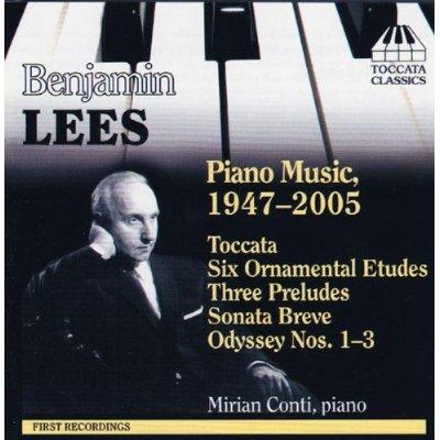 B.リース(1924-2010): ピアノ作品集(1947-2005)
