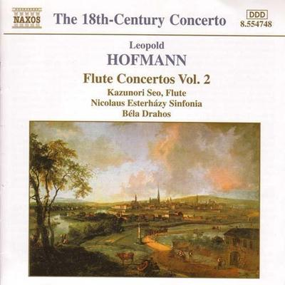 ホフマン(1738-1793): フルート協奏曲全集 第2集