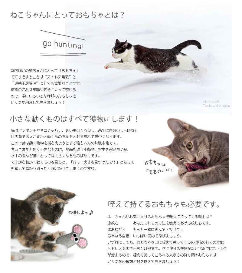 猫 おもちゃ ねずみ