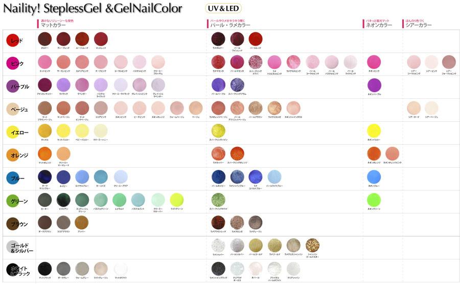 カラーチャートを見る