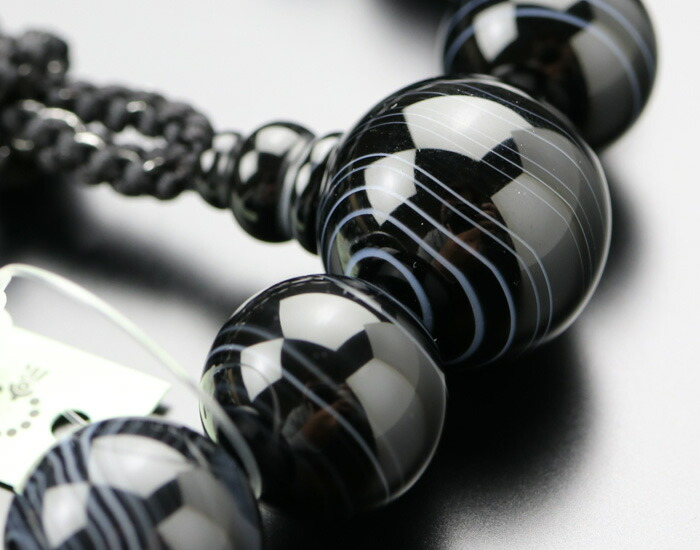 略式数珠 男性用