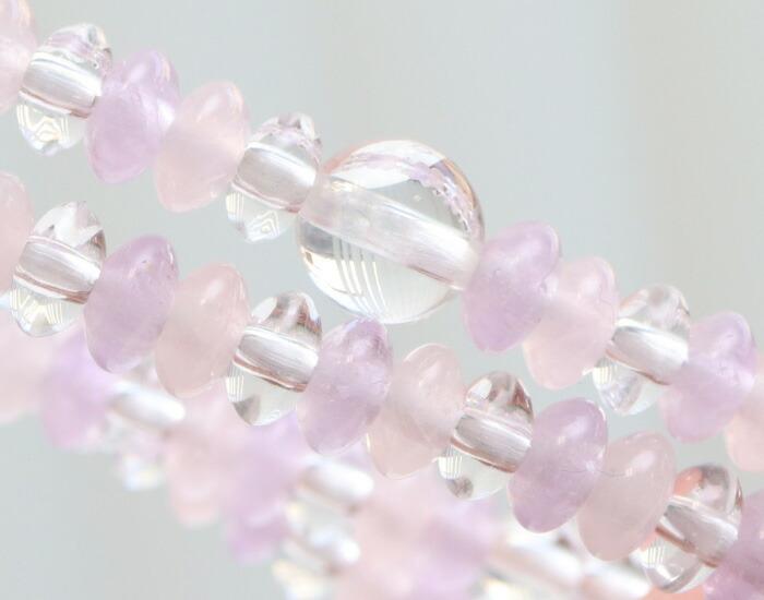 数珠ブレスレット 女性用