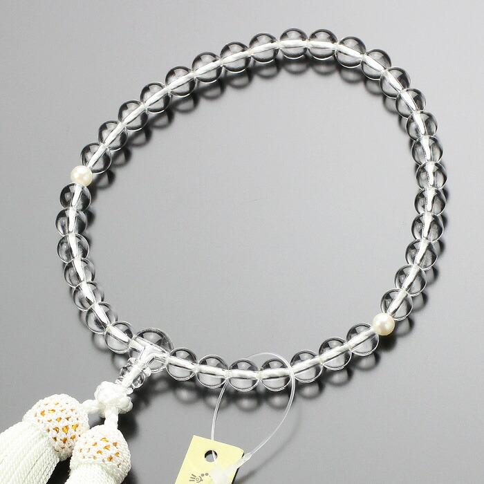 数珠 女性用 本真珠