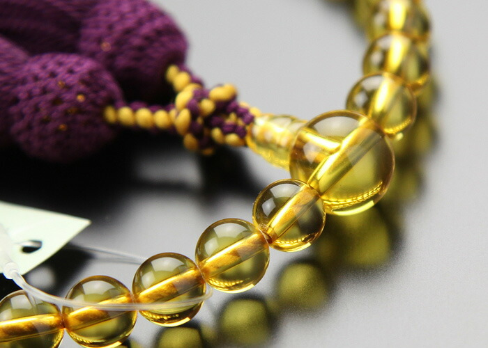 コハク 数珠
