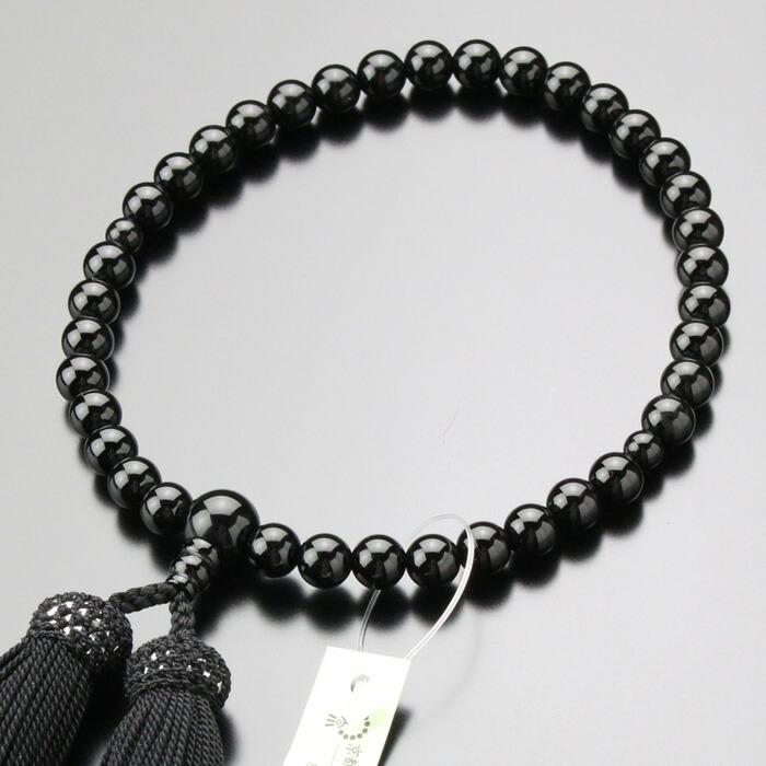 数珠 女性用 オニキス