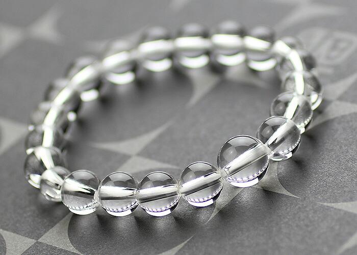 水晶 数珠ブレスレット