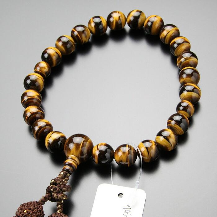 虎目石 数珠