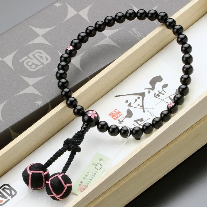 数珠 黒オニキス